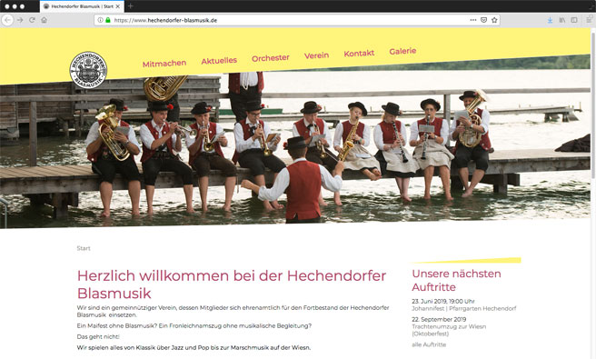 Hechendorfer Blasmusik e.V.