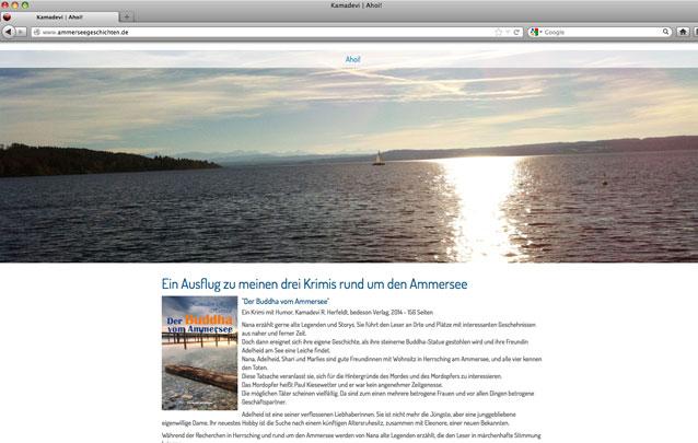 Ammerseegeschichten von Kamadevi Herfeldt